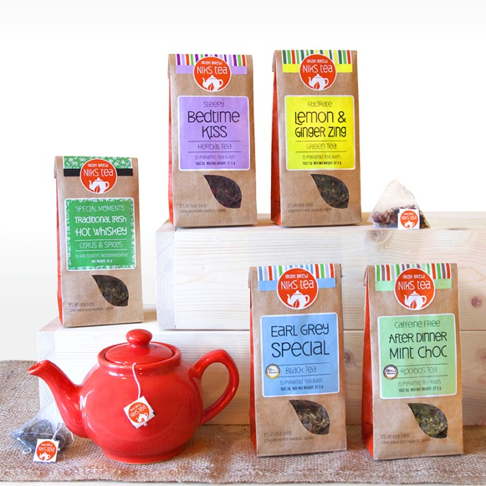 Niks Tea New Label and packaging
