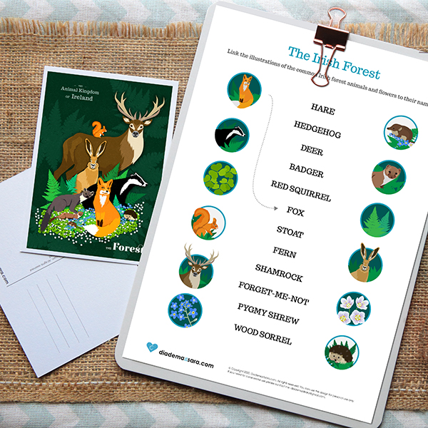 FREE DOWNLOAD – Printable children Activity