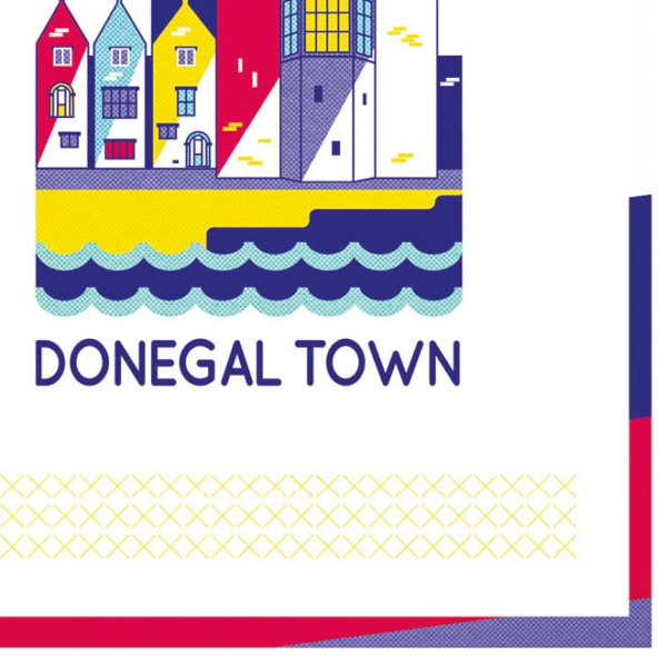 Signed Print Donegal Town