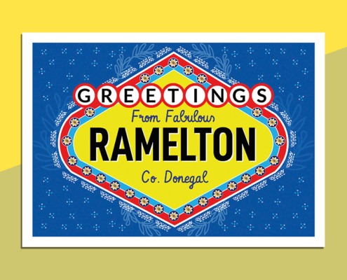 greetings from Ramelton Donegal
